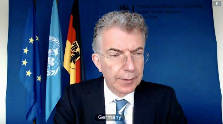 German representative to the UN Security Council: