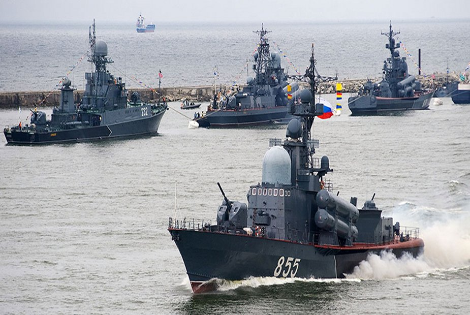 THE RUSSIAN BALTIC FLEET IS LOOKING AT US NUCLEAR PLANS IN POLAND