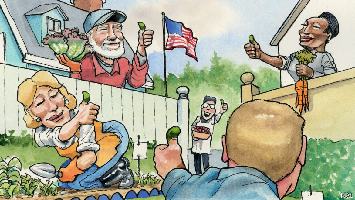The Economist: America rediscovers the joys of vegetable-growing