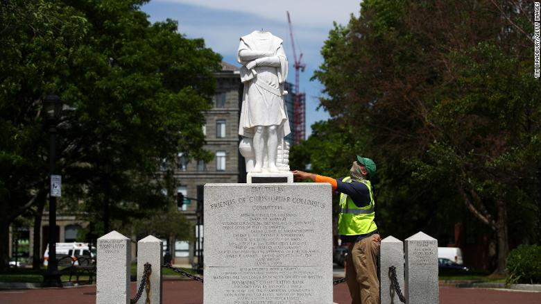 CNN: Cathartic acts of rage, or the rewriting of history? How statues became political lightning rods