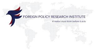 Foreign Policy Research Institute Proposals for Strategic Change in US Behavior in the Middle East: