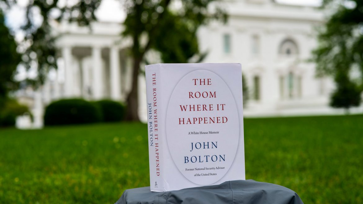 Political Economy Journal: A book review on 'The Room Where It Happened'; Bolton reveals what happened in the room