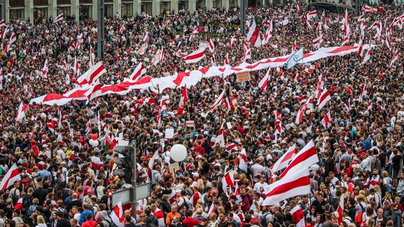 The presence of Zionism in Belarus