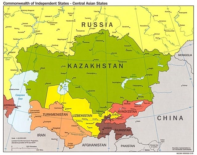 Central Asia; Geopolitical cohesion and regional powers