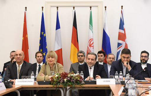 A meeting of the Joint Comprehensive Plan of Action (JCPOA) Joint Commission in Vienna,