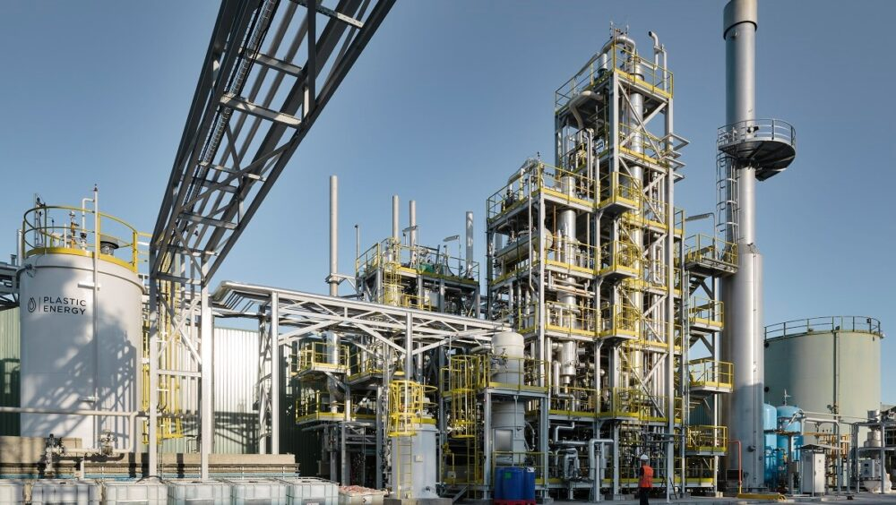 Construction of chemical recycling plant in France