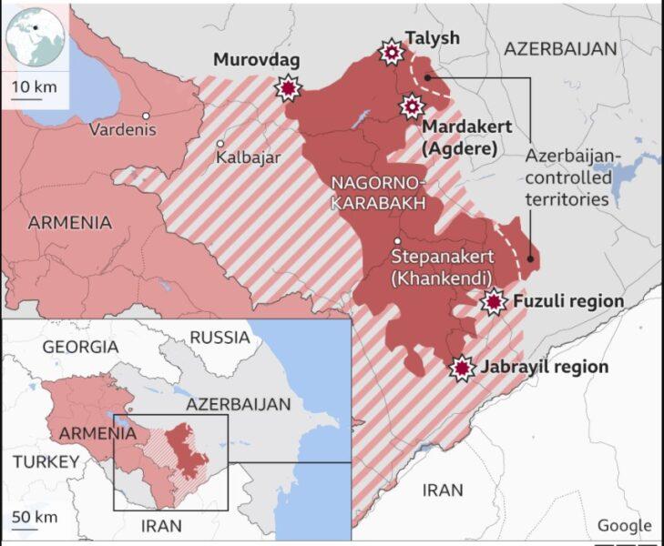 Azerbaijan-Armenia; Caucasus War