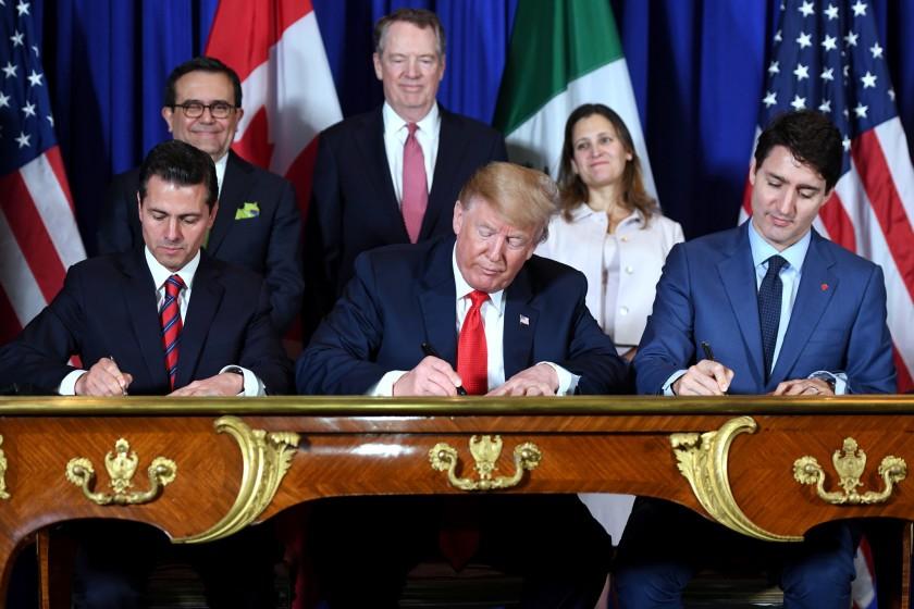 Remplacing NAFTA with USMCA