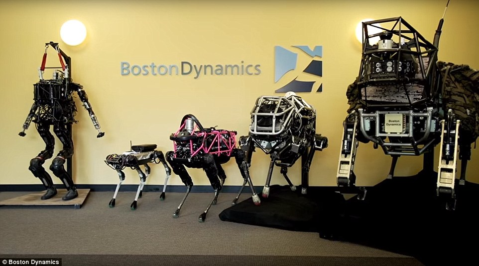 SoftBank Is in Talks to Sell Boston Dynamics to Hyundai