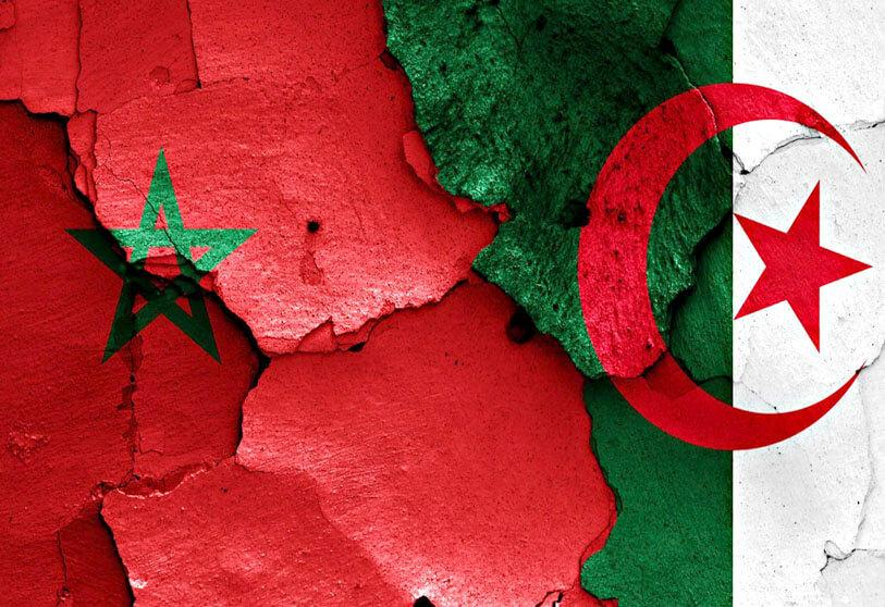 The conflict between Middle East regional powers is drawing in Morocco and Algeria.