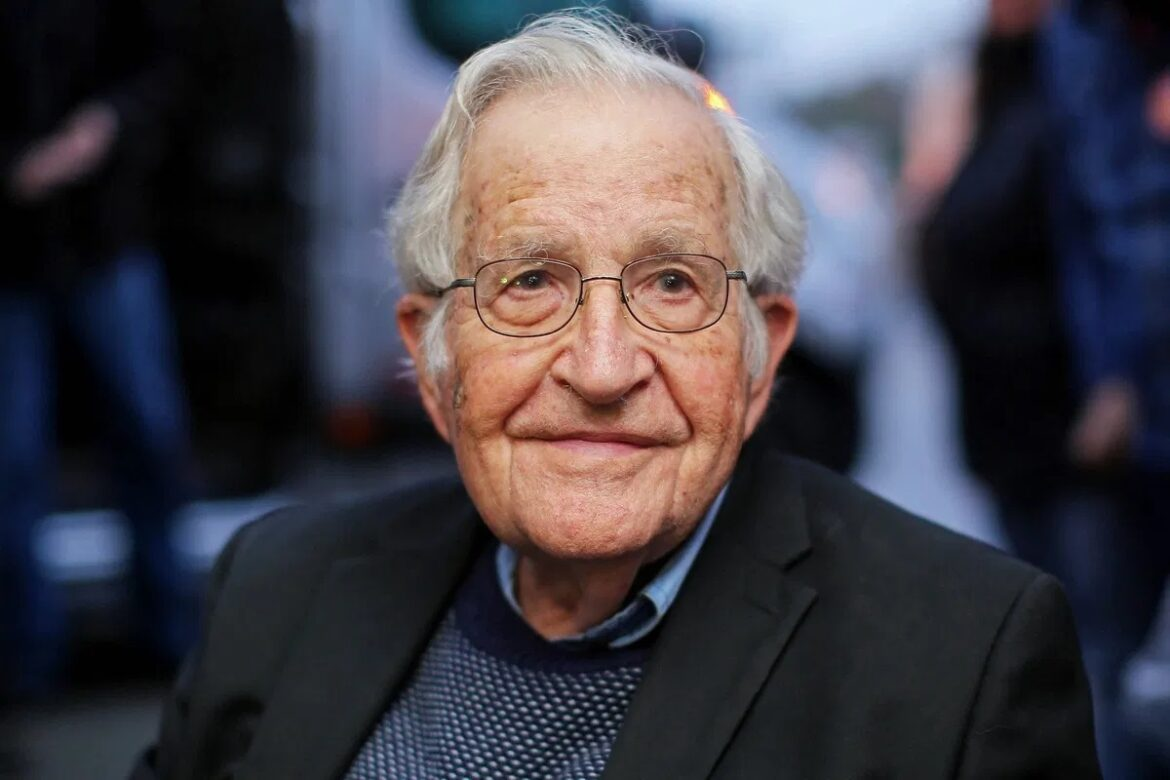 "Chomsky: "" Trump is the worst criminal in human history. """