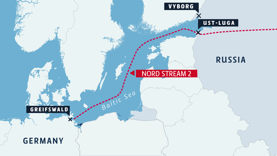 US steps up sanctions pressure on Nord Stream 2