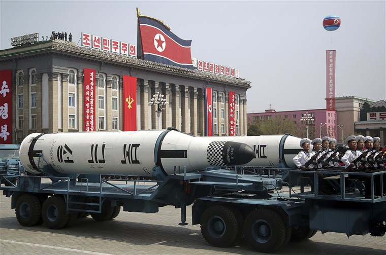 North Korea nuclear arms crisis