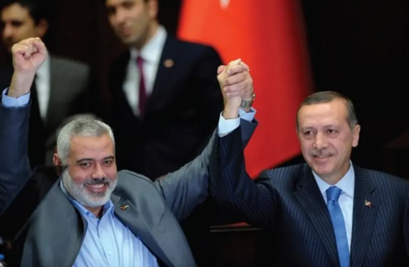 Is Turkey betraying Hamas in front of Tel Aviv?