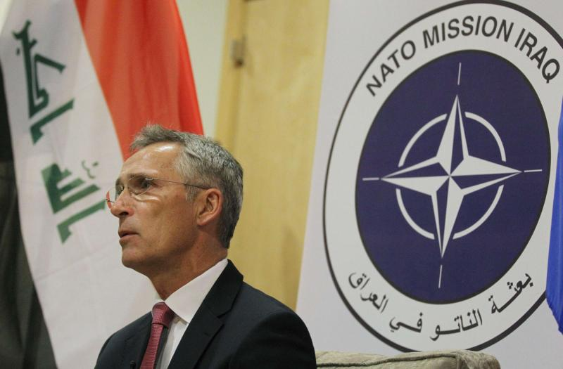 What does NATO want in Iraq?