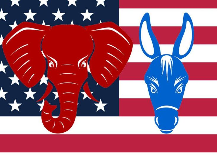 fractions within the Democrats and Republicans