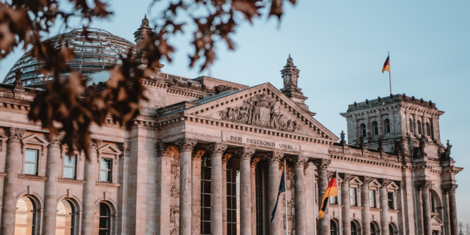 Mapping the issues that produced the German federal election result